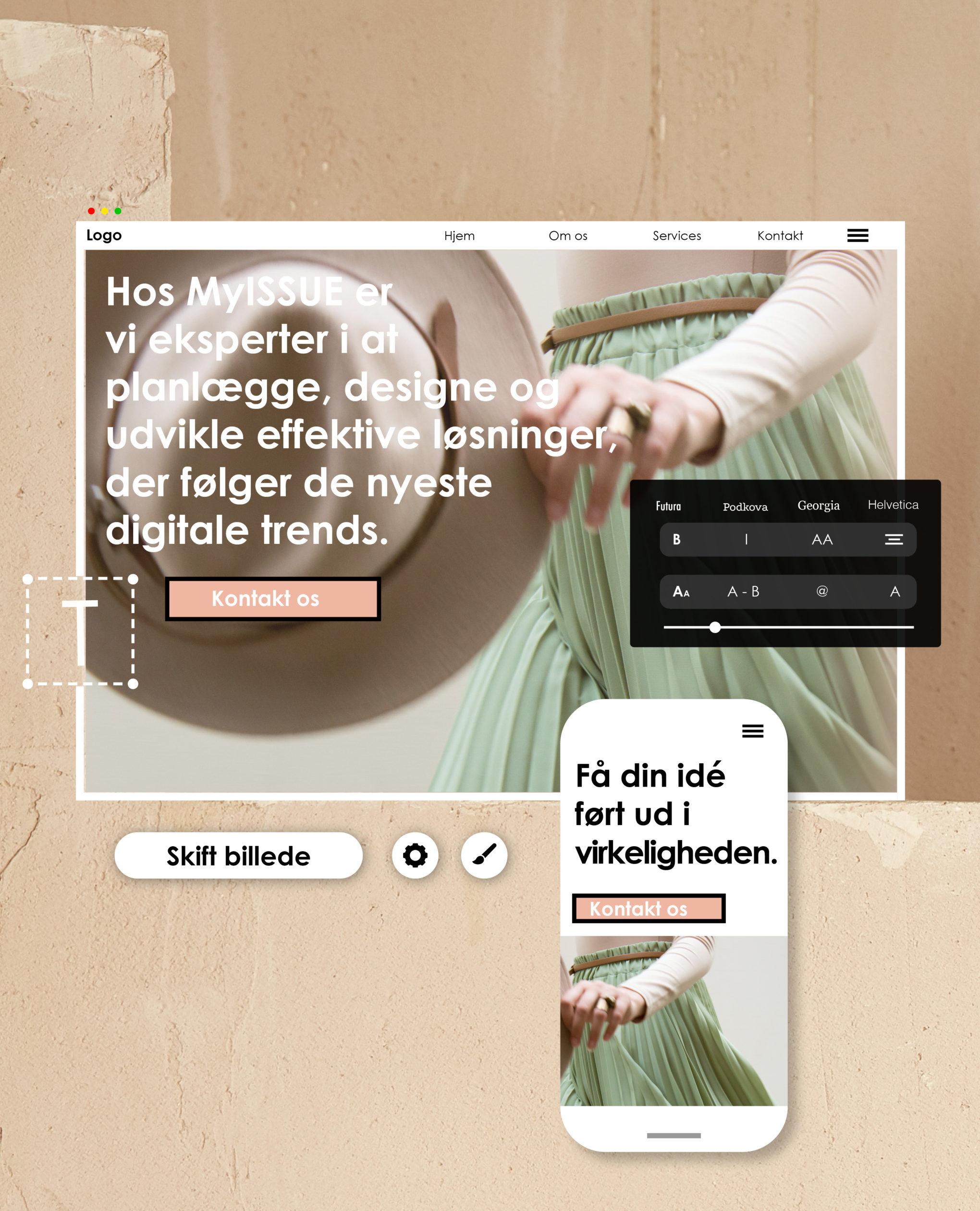 launch ny hjemmeside med myissue.dk ny
